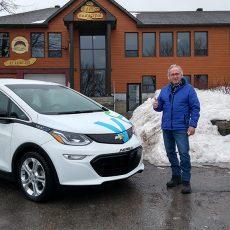 SAUVÉR Système d'autopartage avec véhicule électrique pour les municipalités en région